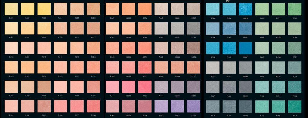tabella colore