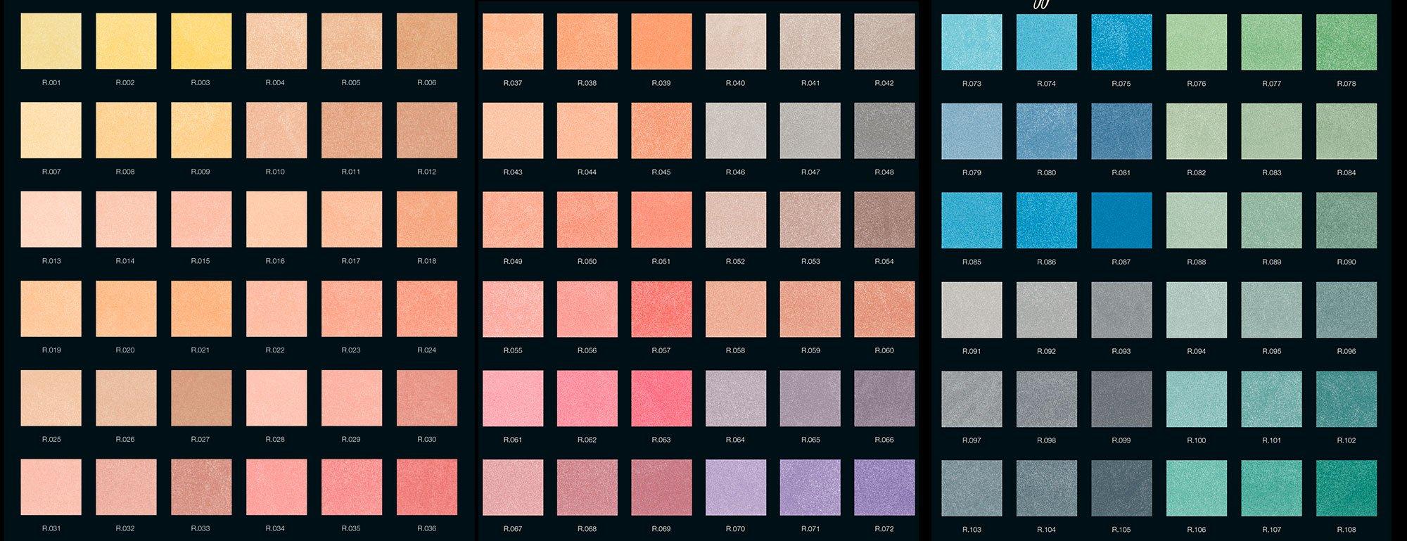 Tabella Colori Sikkens Ral tabella colori primari: per pareti e scelte di arredamento