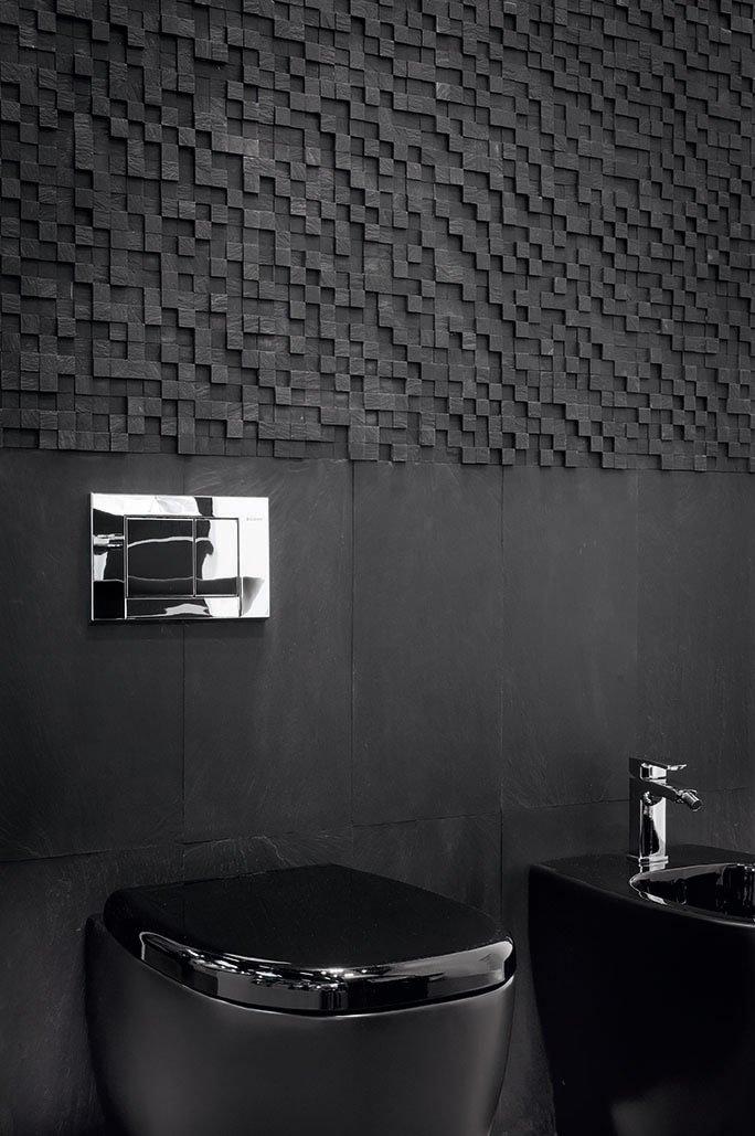 Muri in pietra interni e per esterni materiali e - Bagno in pietra ...