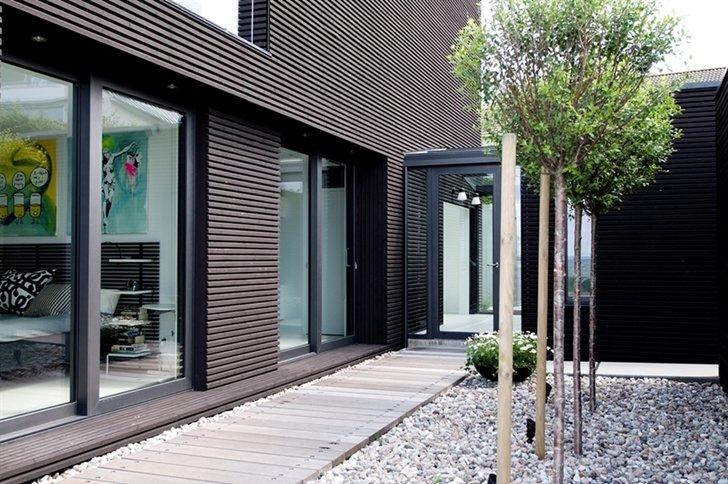 Case moderne foto di progetti di design per interni ed for Stile a casa canada