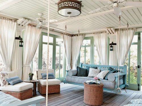 ... sulla scelta delle tende per verande per proteggere la casa con stile
