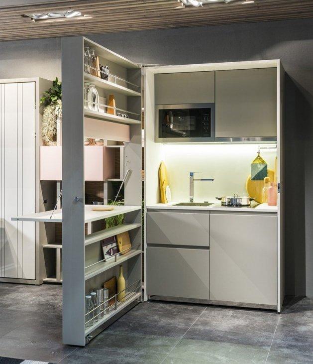 Cucine a scomparsa: pratiche e funzionali, eccovi alcuni ...