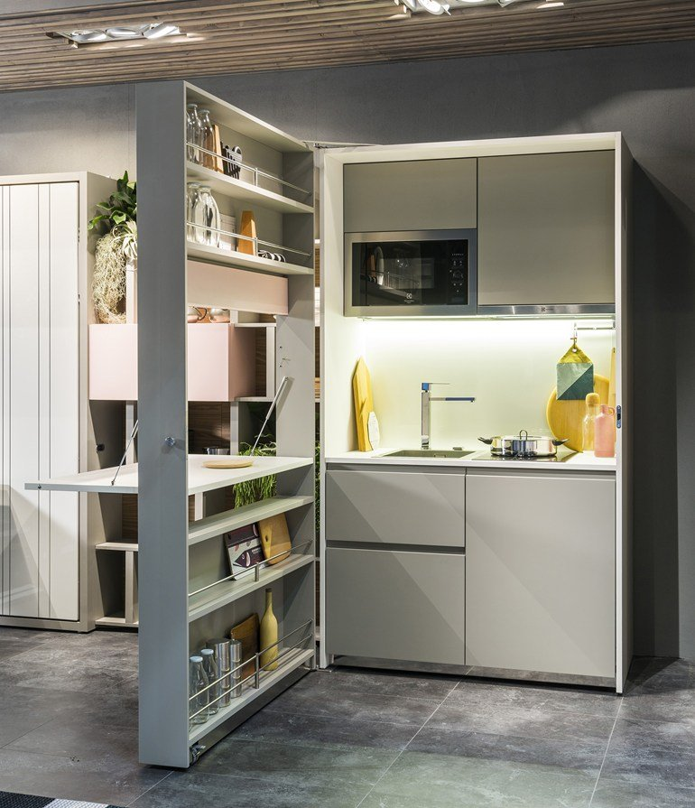 Cucine a scomparsa - kitchen box