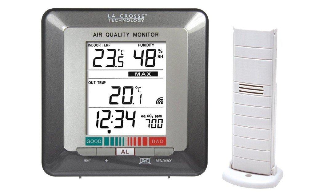 la crosse per misurare la qualità dell'aria