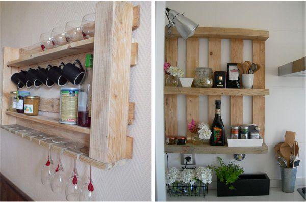 Mensole fai da te per la cucina 5 proposte originali - Cucina componibile fai da te ...