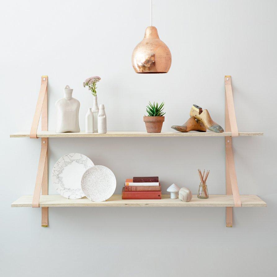 Mensole fai da te per la cucina 5 proposte originali - Mensole cucina design ...
