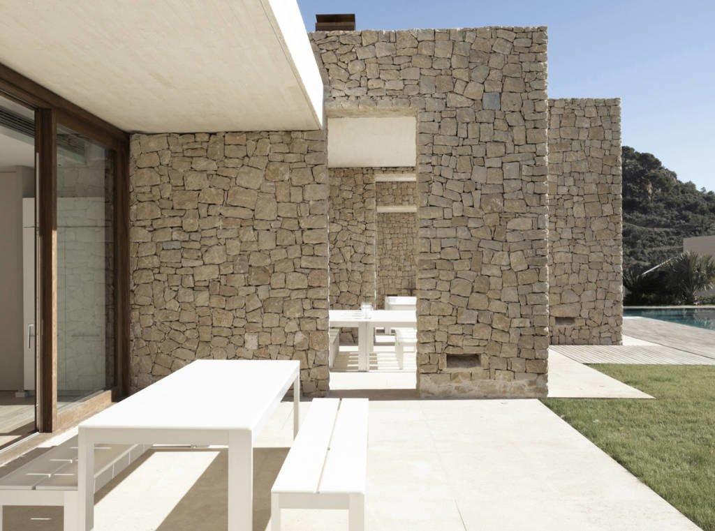Muri in pietra interni e per esterni materiali e - Rivestire muro esterno ...