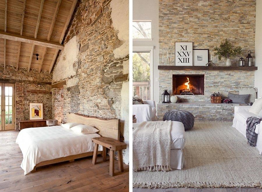 Molto Muri in pietra interni e per esterni: materiali e caratteristiche RH34