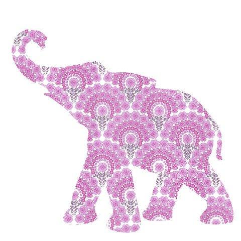 carta da parati a forma di elefantino