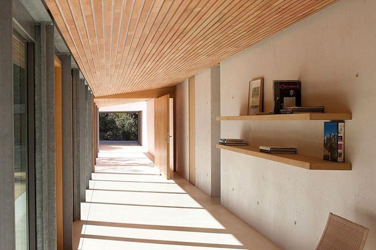 Soffitti in legno - perline