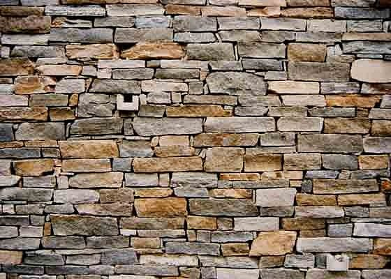 Muri in pietra interni e per esterni materiali e - Pietra a vista per esterni ...