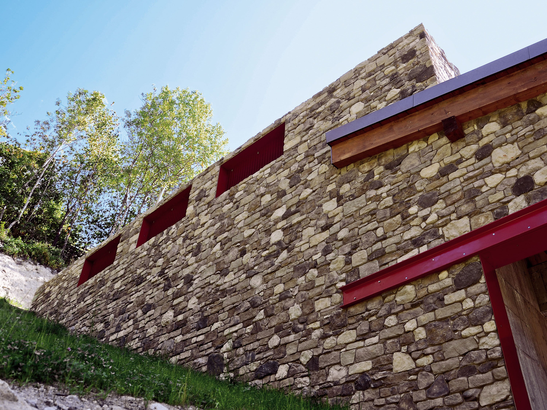 Pietre Per Arredare Pareti muri in pietra interni e per esterni: materiali e
