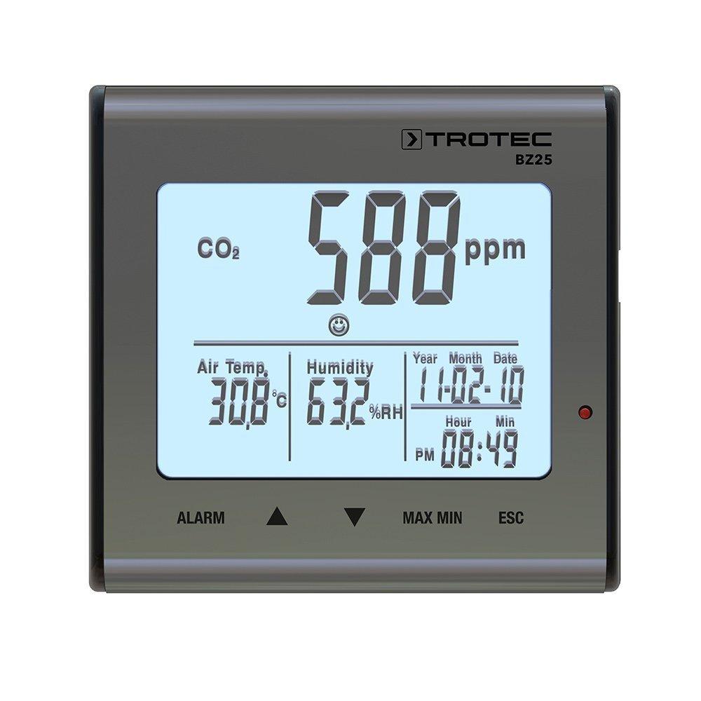 misuratore della qualità dell'aria Trotec BZ25