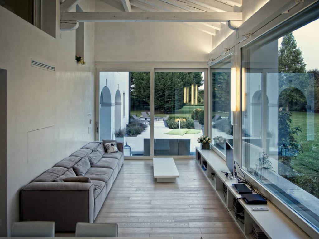 Come arredare una veranda - veranda moderna