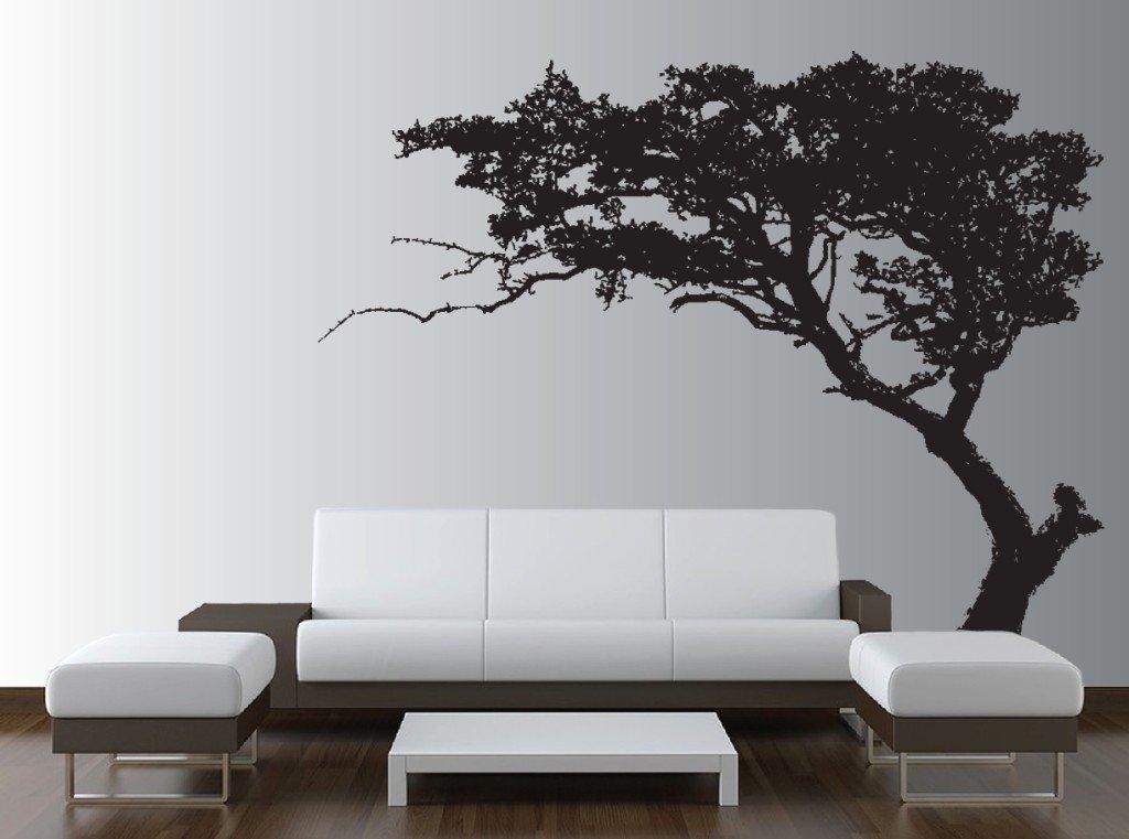 Come decorare una parete vuota az37 pineglen - Stencil per parete ...