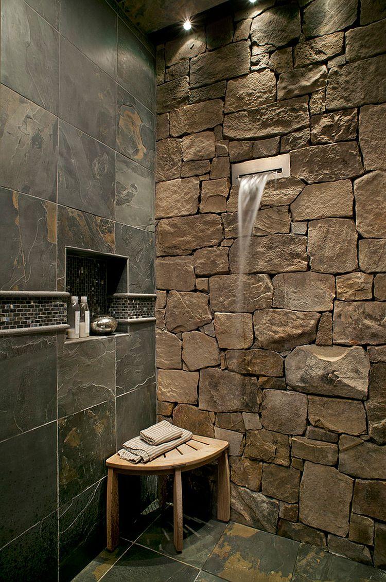 Photo of Speciale Docce in muratura, con box e piatto doccia realizzati in pietra