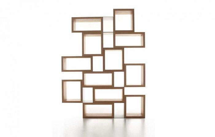Nascondere il contatore tante idee semplici da mettere in for Libreria cubi ikea