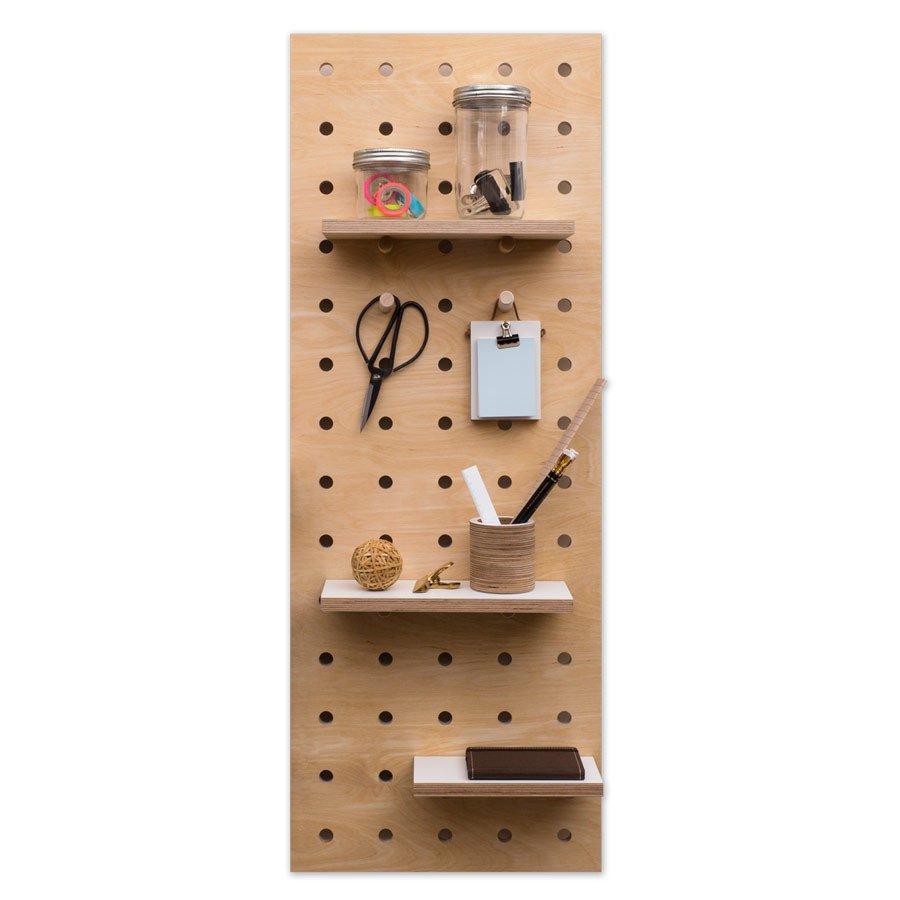 Portaoggetti da parete in legno proviamo a farlo designandmore arredare casa - Portaoggetti da parete ikea ...