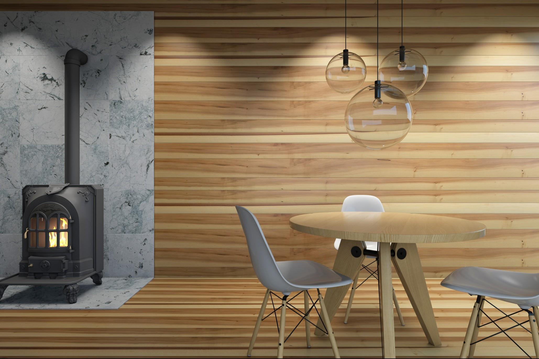 Perline legno per pareti prezzi vantaggi e svantaggi designandmore arredare casa - Tavole adesive per pareti 3d ...