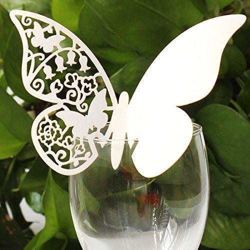 segnaposto matrimonio farfalla