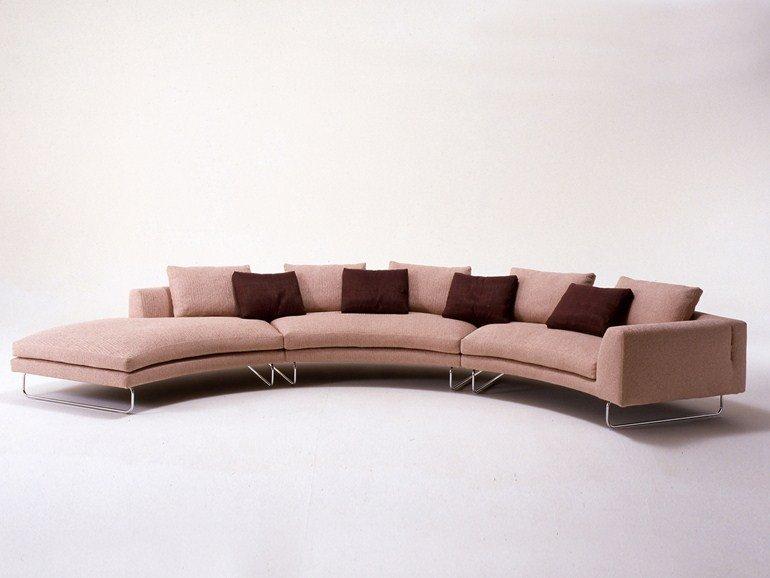 divano rotondo esempi di divano circolare di design