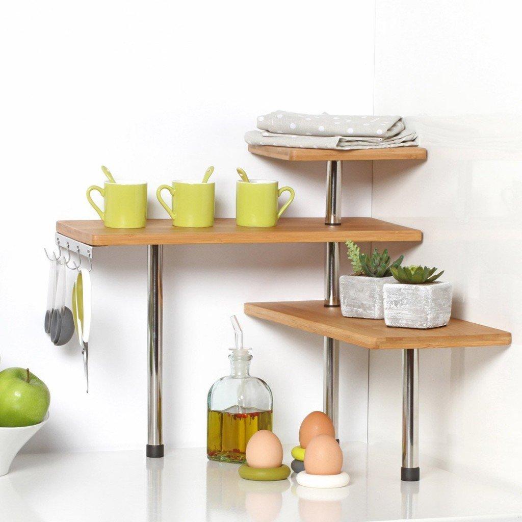 Mensole angolari prezzi e modelli in legno vetro e acciaio for Mensole ikea vetro