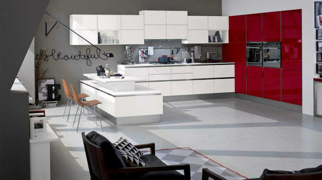 Cucine bicolore tante foto di esempio di una scelta che fa tendenza - Foto veneta cucine ...