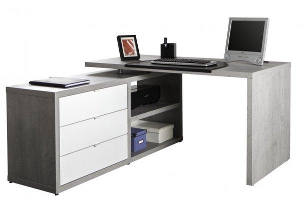 Scrivania angolare per il vostro ufficio, bianca, Ikea e ...