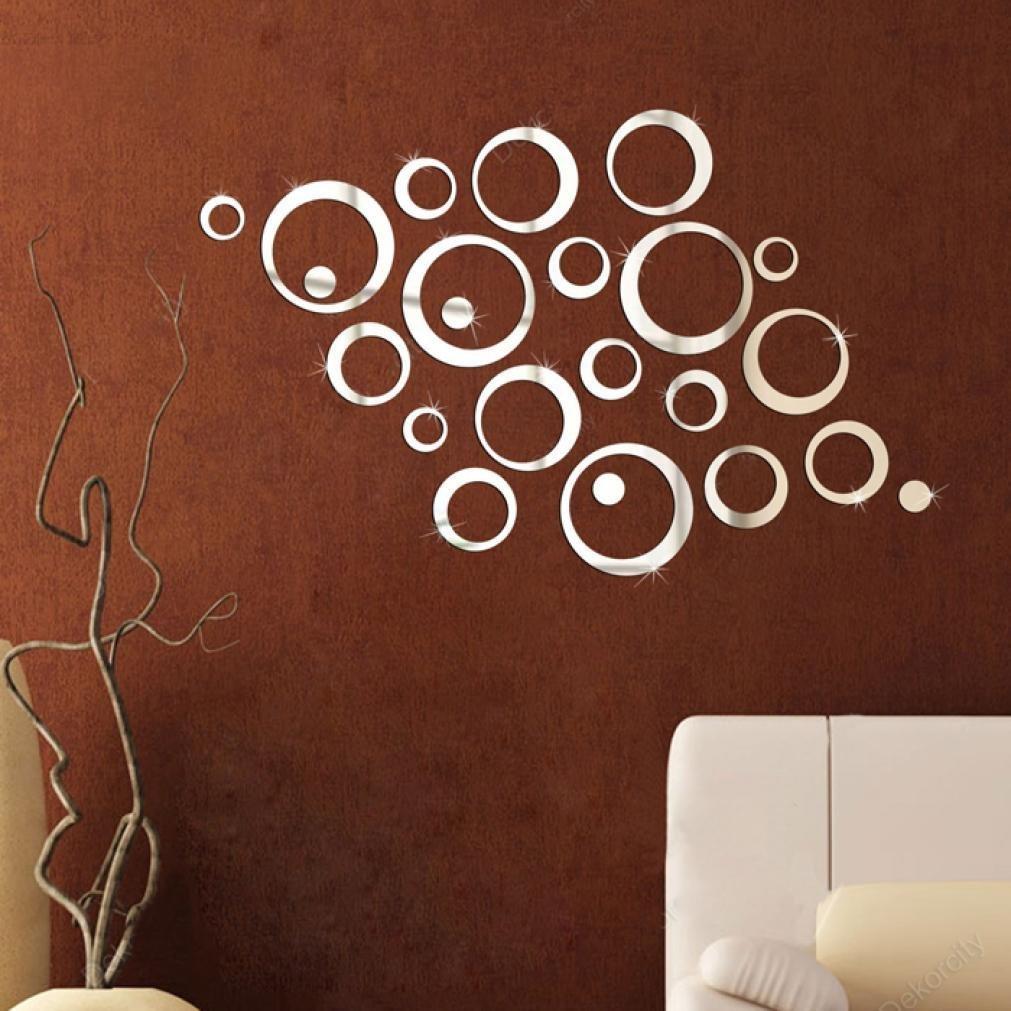 Specchio Adesivo Rotolo Ikea specchio adesivo: rotondo, da parete o armadio, ikea e altre