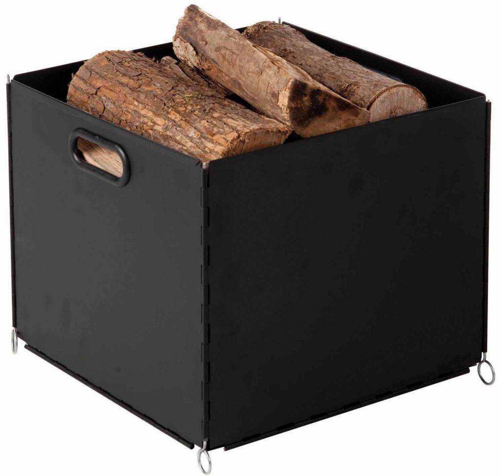Portalegna da interno scegliamolo con stile offerte e for Porta pellet da interno