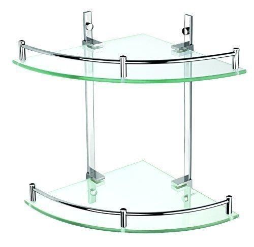 Mensole angolari prezzi e modelli in legno vetro e for Mensole angolari per bagno