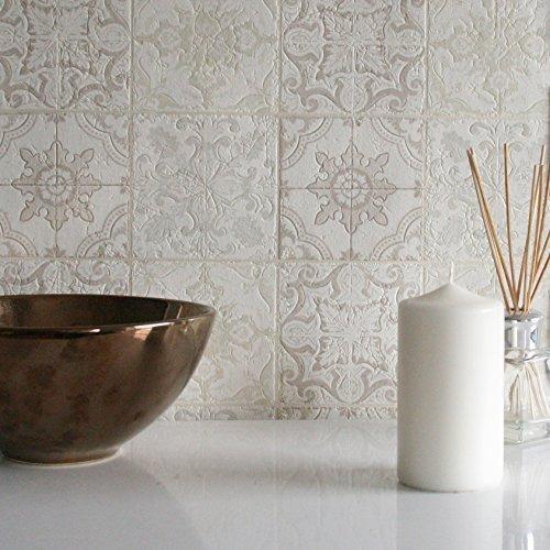 Piastrelle adesive per cucina e bagno offerte online designandmore arredare casa - Gemusterte fliesen ...