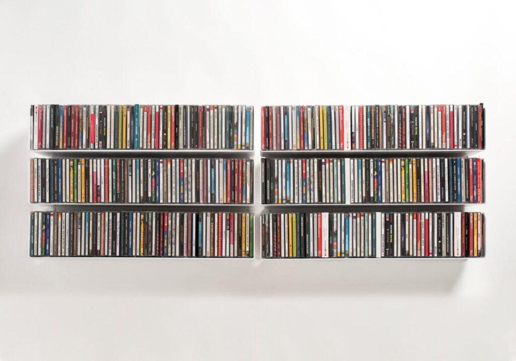 Porta dvd da parete a colonna e mobili designandmore - Mensole da parete design ...