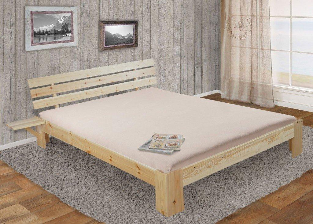 perth letto con doghe in legno