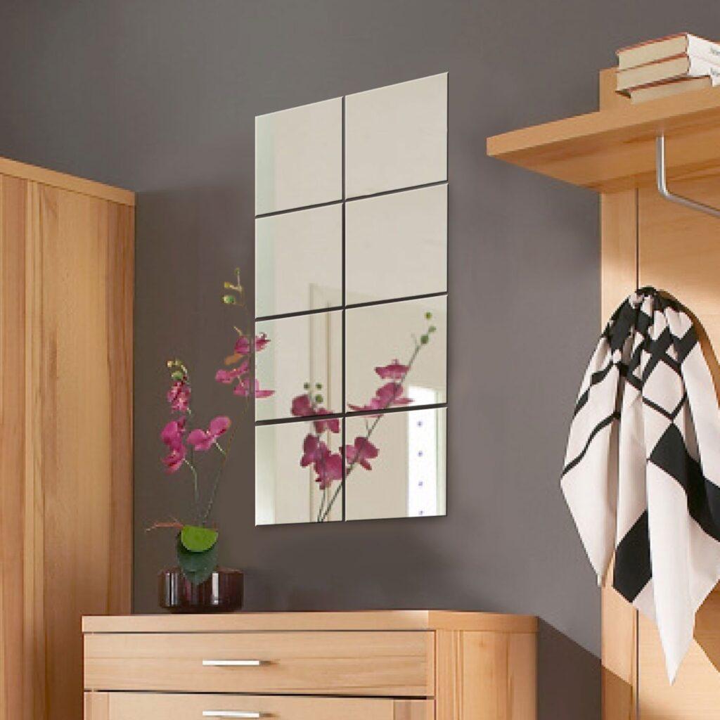 Specchio adesivo rotondo da parete o armadio ikea e for Pegatinas de pared ikea