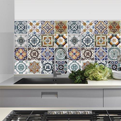 piastrelle adesive per cucina e bagno offerte online