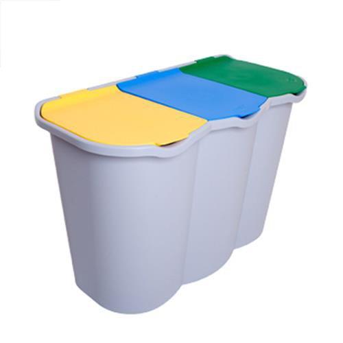 Bidoni spazzatura per interni ed esterni e per raccolta for Ikea bidoni differenziata