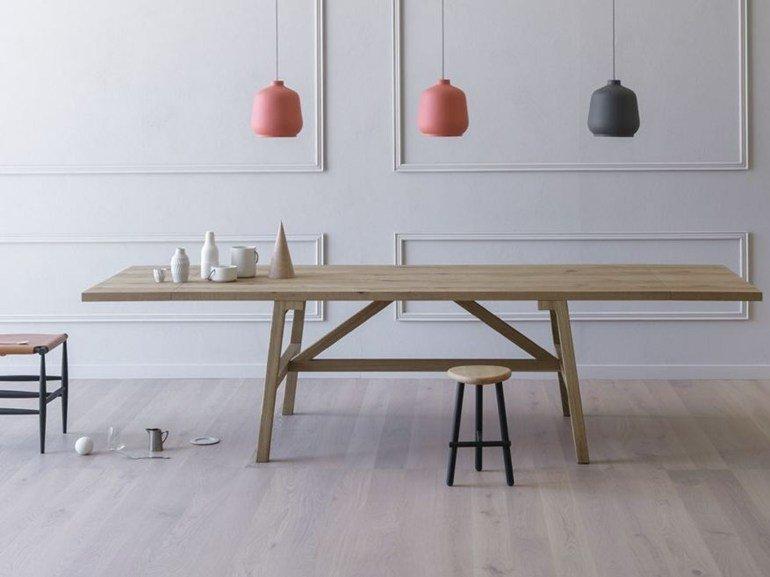 frattino - tavolo legno massello