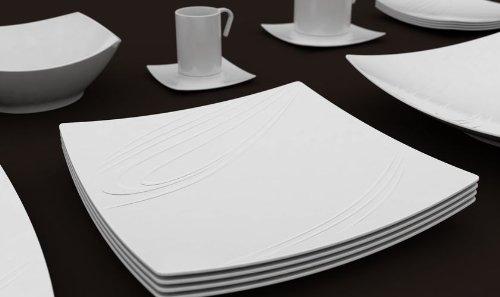 Photo of Piatti quadrati: pura geometria in tavola, tante proposte selezionate per voi