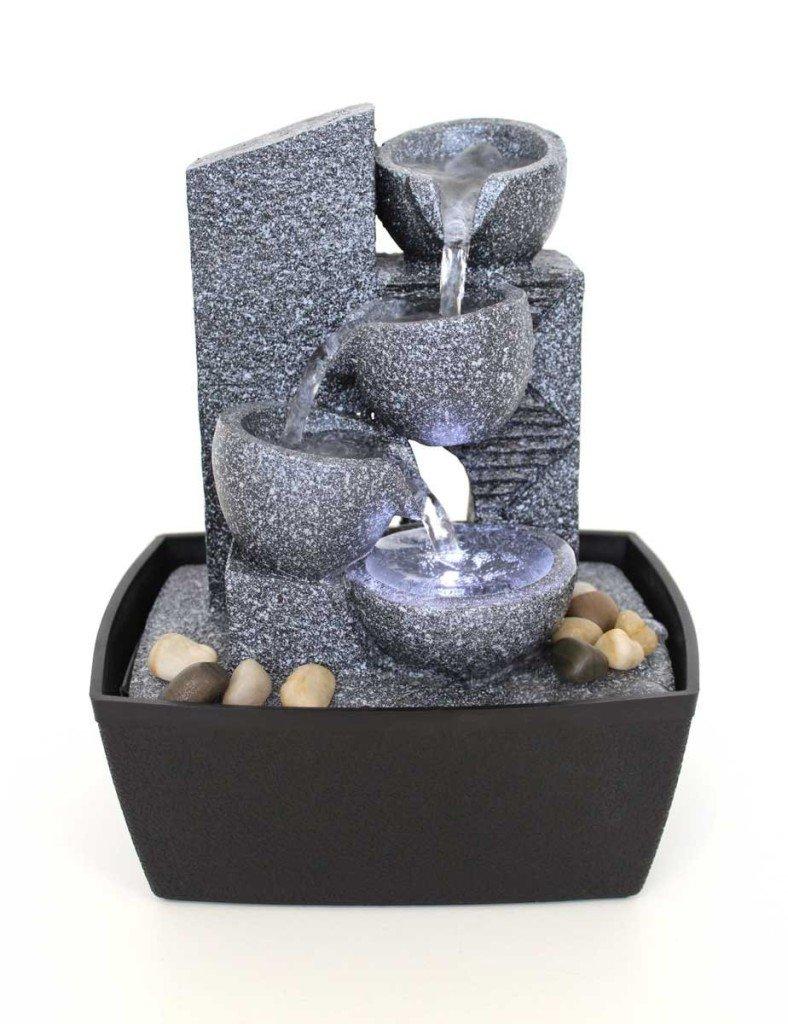 Fontana zen da interno energia positiva in casa for Dove comprare giardino zen da tavolo