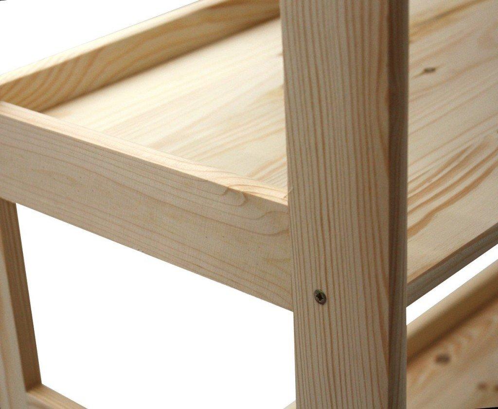 Tende per camera dipinte for Scaffali legno arredamento