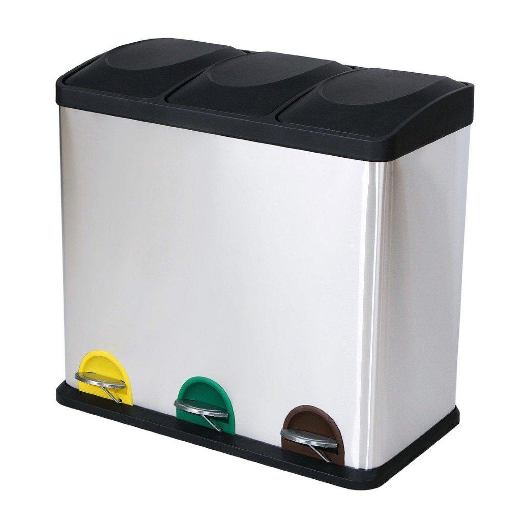 Bidoni spazzatura per interni ed esterni e per raccolta - Contenitori raccolta differenziata per casa ...