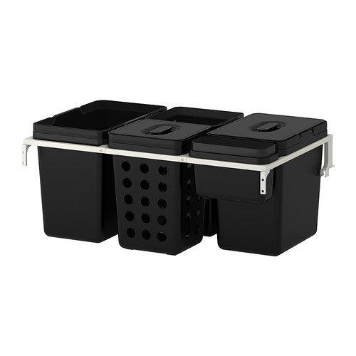 Pattumiera differenziata estraibile un bell 39 aiuto in for Ikea pattumiera