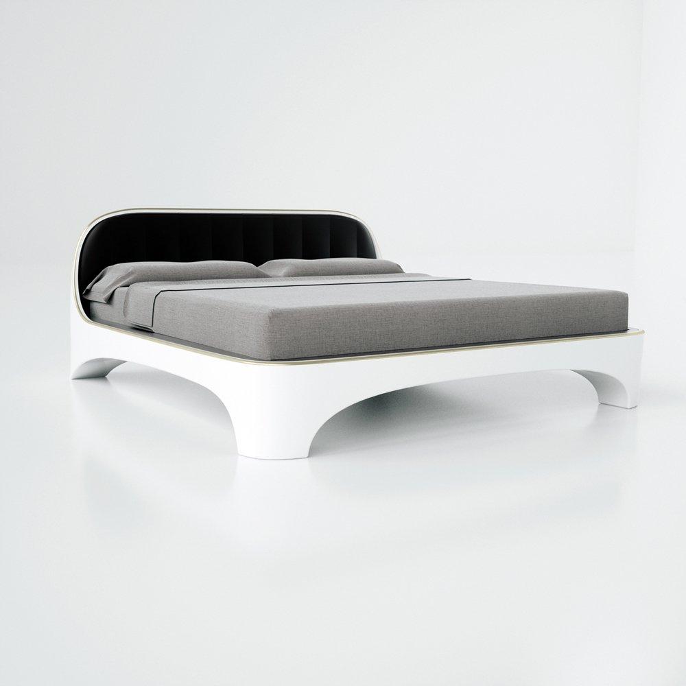 Letti matrimoniali moderni esempi di stile e design for Letto moderno design