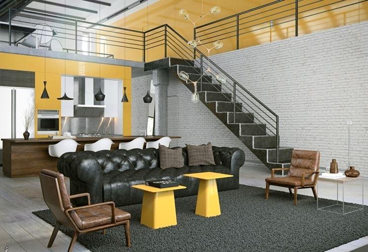 soppalco stile loft