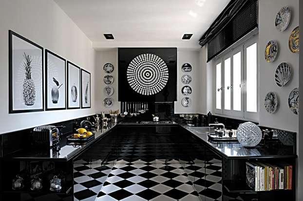 Cucina nera foto di esempi per una scelta raffinata e moderna