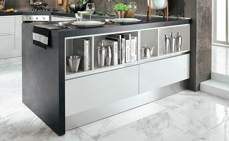 Cucina grigia e bianca una scelta di stile for Cucina veronica mondo convenienza