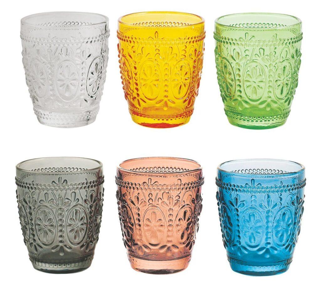 Bicchieri di vetro bormioli ikea e tanti altri spunti for Bicchieri colorati vetro
