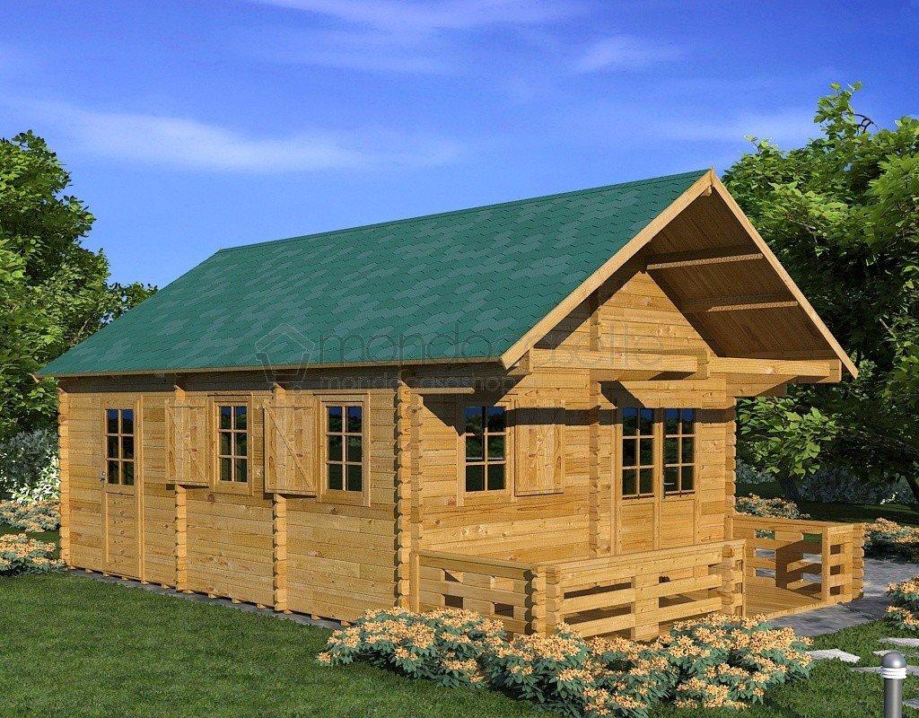 Casette in legno le proposte mondocasette belle e for Casette di legno prezzi