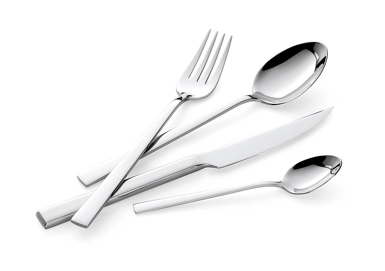 Posate in acciaio stile e design in tavola prezzi online - Casa in acciaio prezzo ...